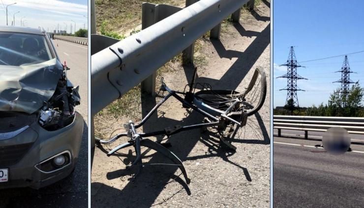 Астраханский велосипедист погиб под колесами иномарки