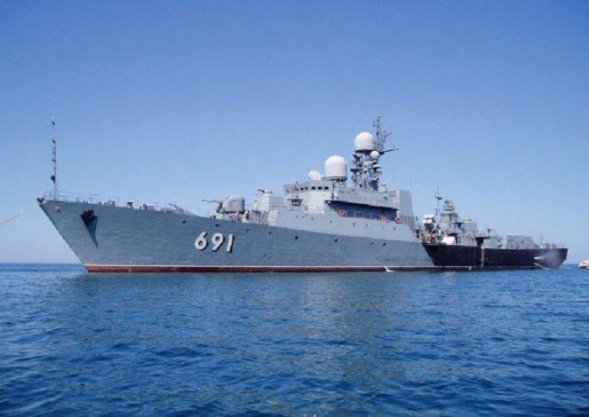 Корабли Каспийской флотилии использовали «Подсолнух»
