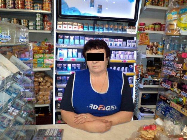 В Ахтубинске попалась торговка «левыми» сигаретами