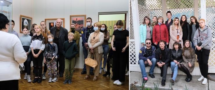 В уютном астраханском музее прошли два фотособытия