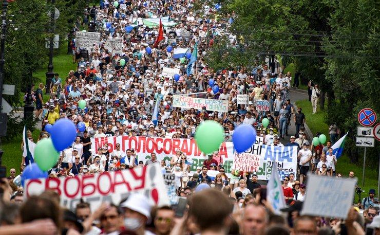 В Астрахани поддержали хабаровские протесты