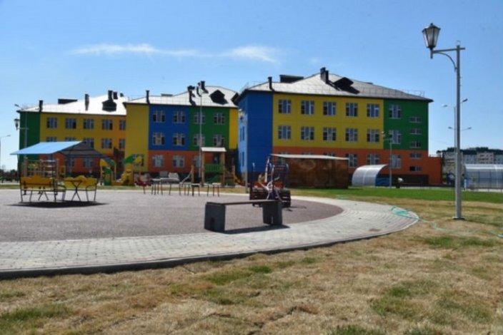 На северной окраине Астрахани строится детский сад