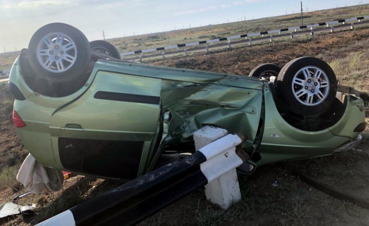 14-летний пострадал в ДТП на трассе «Волгоград – Астрахань»