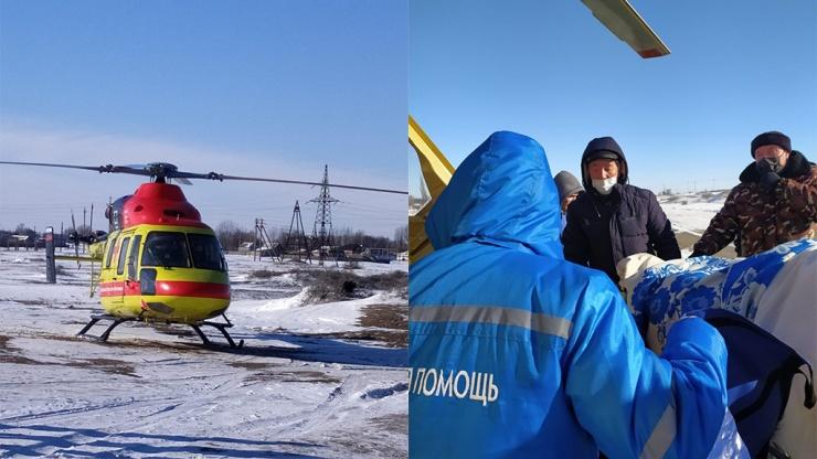 Паромные переправы – не преграда: санавиация доставила пациентку из Мумры в больницу имени Кирова