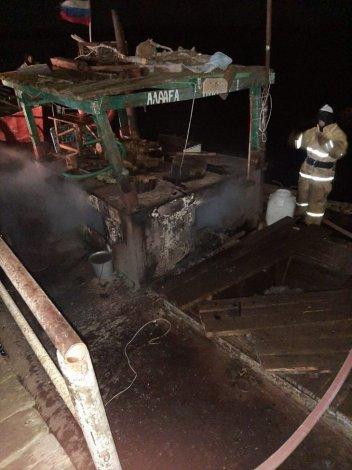 Под Астраханью заживо сгорели два рыбака
