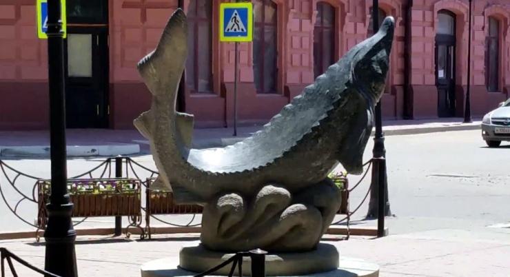 Астраханский памятник участвует в конкурсе необычных скульптур