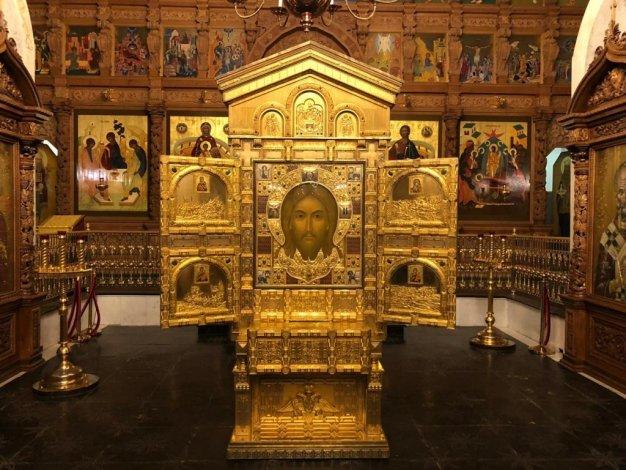 В Астрахани находится главная икона русских военных Спас Нерукотворный