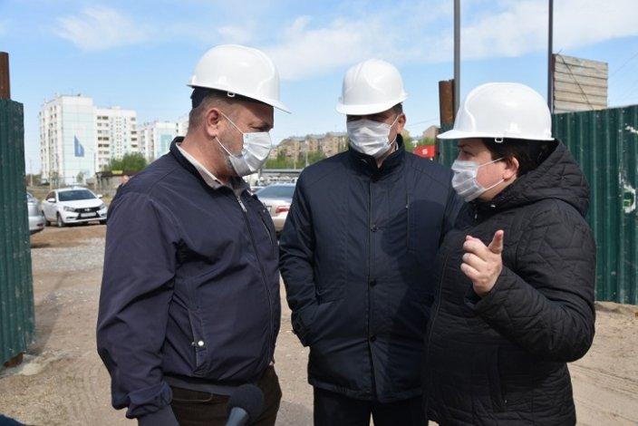 Городские власти строят дом для нуждающихся в жилье астраханцев