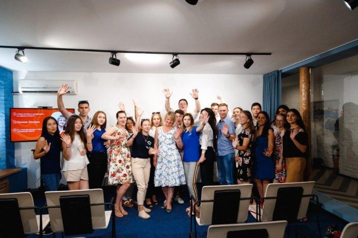 Галина Зотеева рассказала молодёжи о жизни и карьере