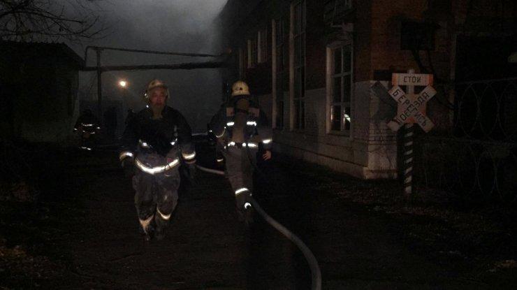 В Астрахани снова горел завод ТРЗ