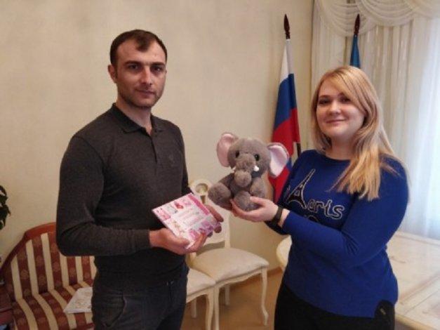 В Астраханской области зарегистрированы новые жители