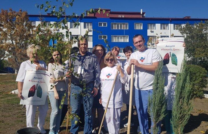Астрахань приняла участие в акции «ДЫШИ»