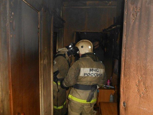 Под Астраханью в огне погибла пожилая женщина