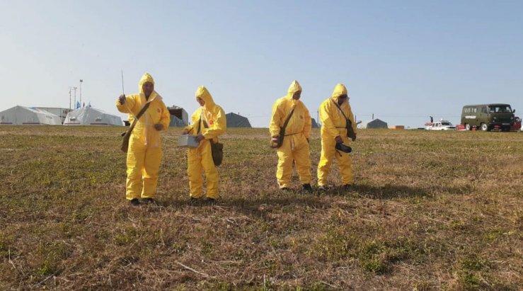 В МЧС назвали последствия разлива нефти под Астраханью