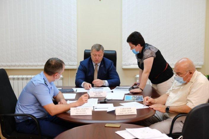 В администрации президента оценили взаимодействие губернатора Игоря Бабушкина с астраханцами