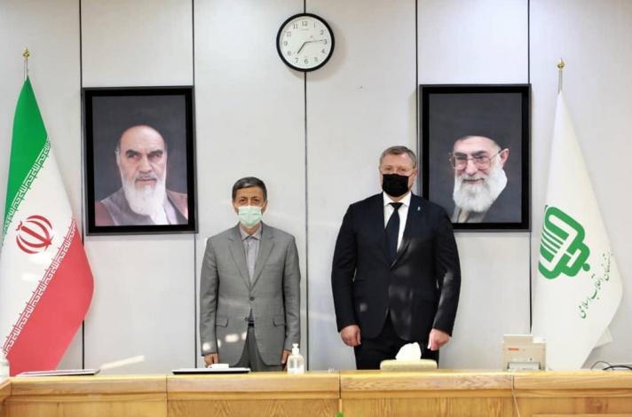 Астраханский губернатор посетил Иран