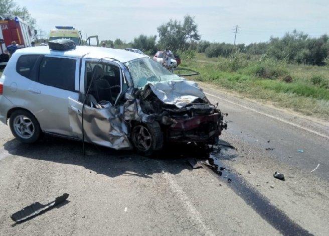 Пятеро человек погибли в ДТП под Астраханью