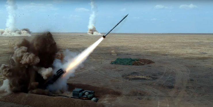 Массированный ракетный удар нанесён под Астраханью