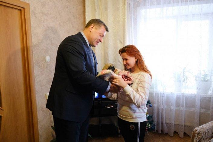Игорь Бабушкин исполнил мечту астраханской школьницы