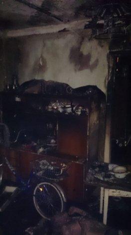 В центре Астрахани сгорели люди