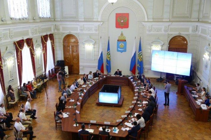 Правительство Астраханской области возобновило работу в очном формате