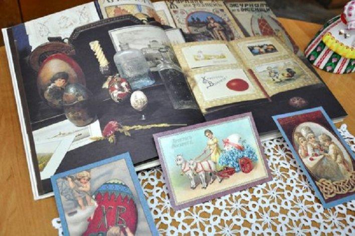 Астраханская библиотека покажет старинные пасхальные открытки