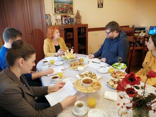 Главврач астраханского наркодиспансера Татьяна Улезко провела пресс-завтрак