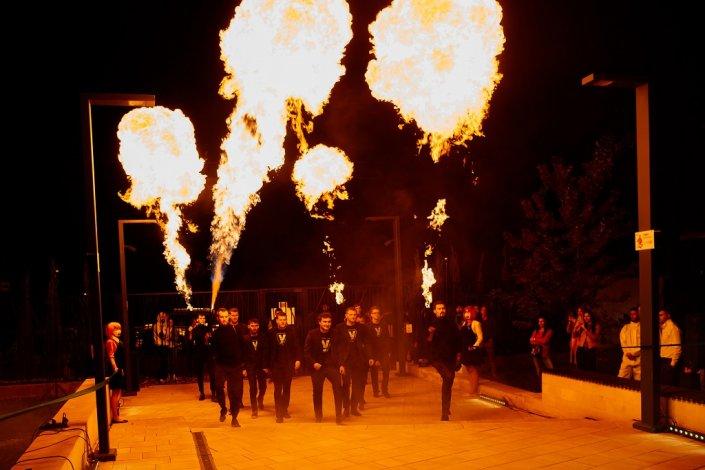 Огненное заселение. Жители укропа зажгли!