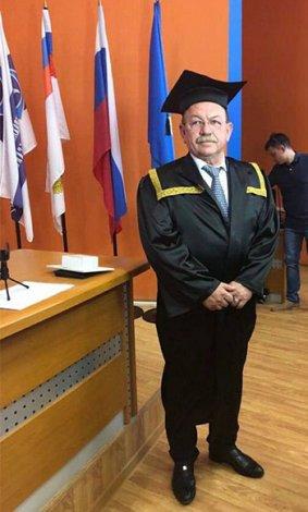 Астраханский сенатор Геннадий Орденов стал почётным профессором