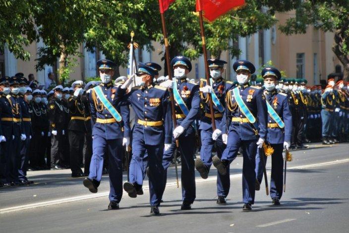В Астрахани в торжественном шествии войск примут участие 800 человек