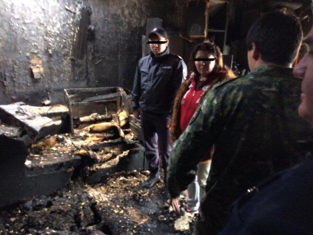 Астраханка убила своего приятеля, обокрала и сожгла вместе с домом