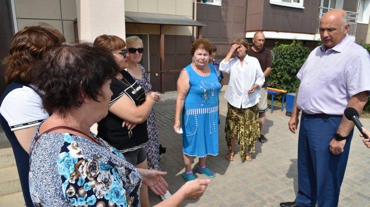 Радик Харисов встретился с жителями Трусово