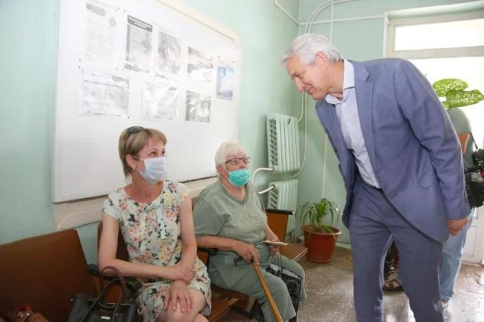 Леонид Огуль: Икрянинский район может стать примером оказания паллиативной помощи