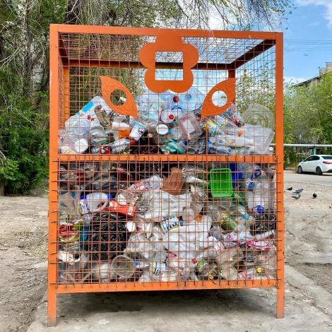 «ЭкоЦентр» вместе с астраханцами собрали 36 тонн пластика с начала года