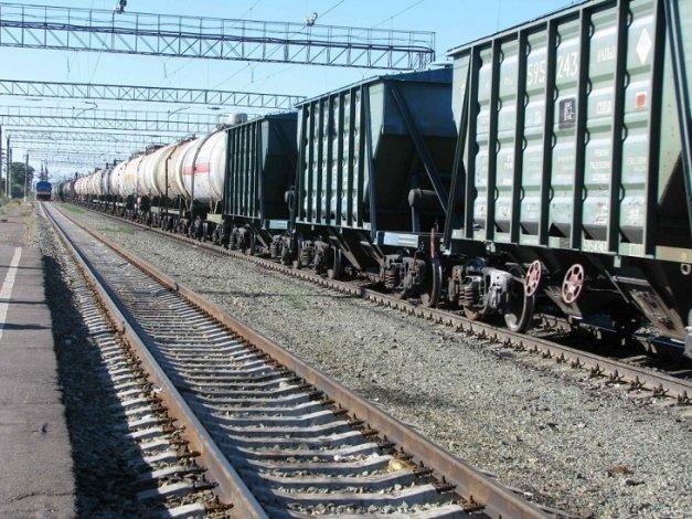В Астраханской области снизился объём железнодорожных погрузок