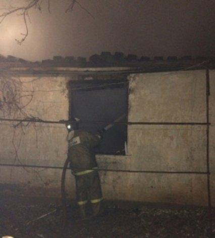 Под Астраханью произошли по неосторожности два пожара