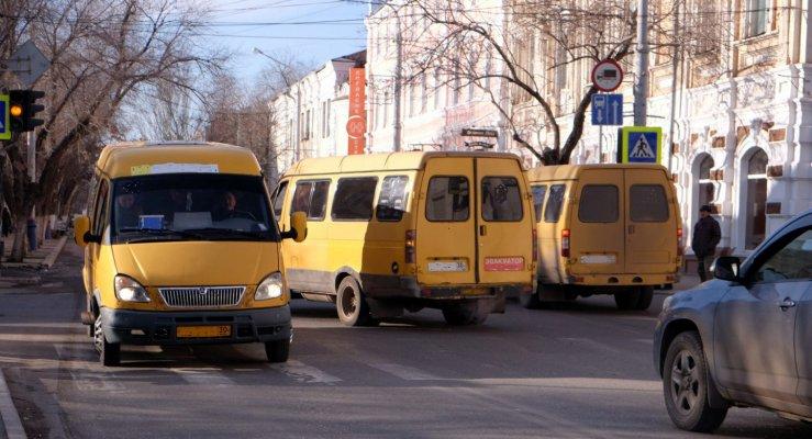 В Астрахани хотят дезинфицировать маршрутки