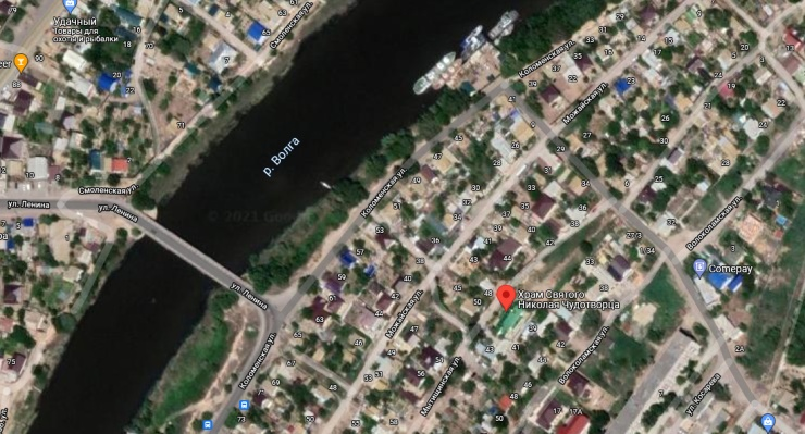 Суд закрепил за РПЦ право собственности на храм святого Николая Чудотворца в Астрахани