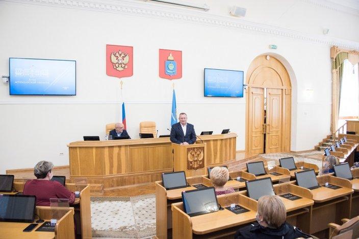 Игорь Мартынов поздравил педагогов с профессиональным праздником