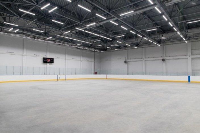 Спортивный центр с катком порадует астраханцев после снятия ограничений