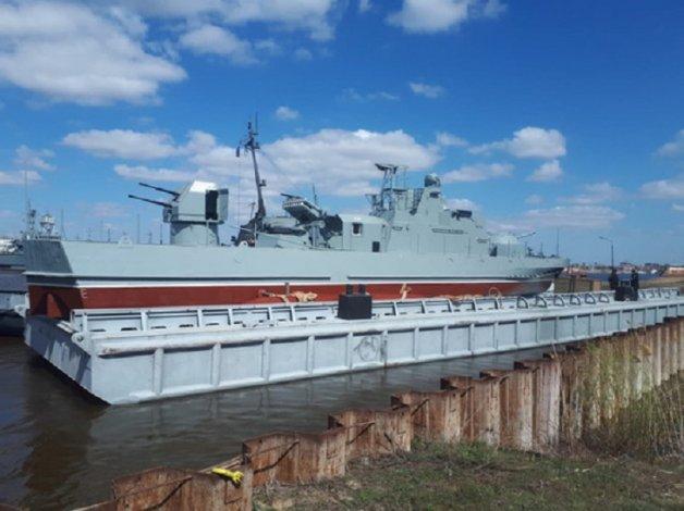 Раритетный катер восстановлен в Астрахани