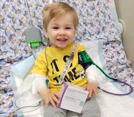 О состоянии маленького астраханца Лёни Ямковского рассказала его мама