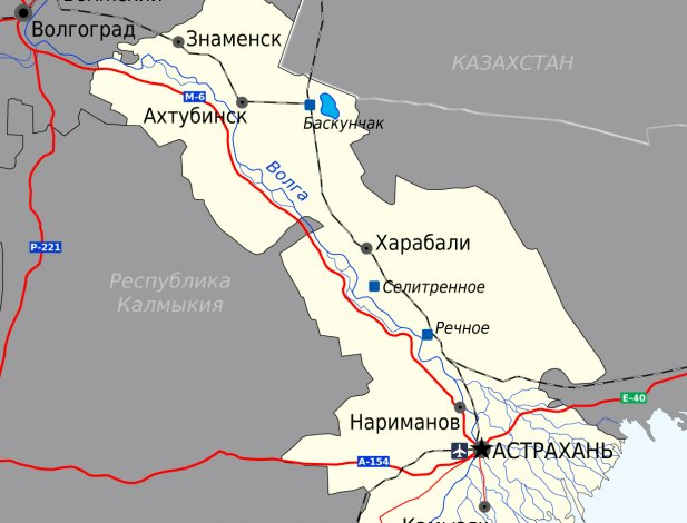 В Астраханской области установлен карантин