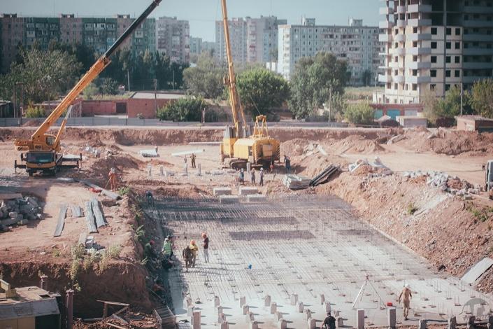 Астраханский государственный университет строит два девятиэтажных общежития для 900 студентов