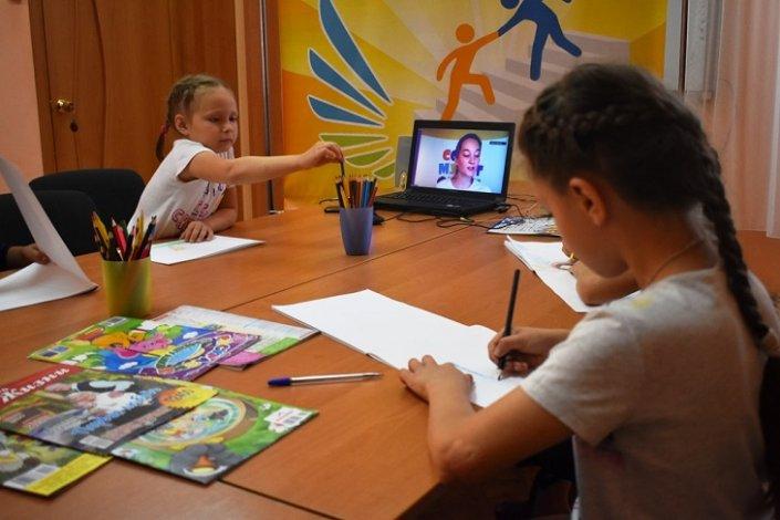 Юные воспитанники астраханских интернатов посетили online-урок «Союзмультфильма»