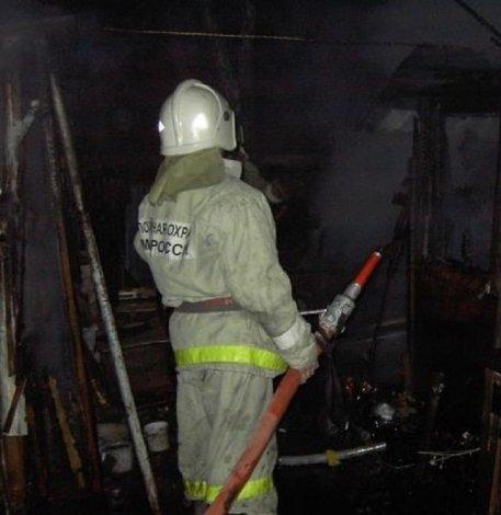 В Астрахани в рождественскую ночь сгорел человек