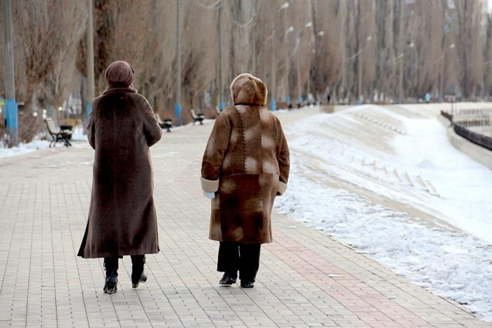 Комсомольская набережная – романтическое место в Астрахани
