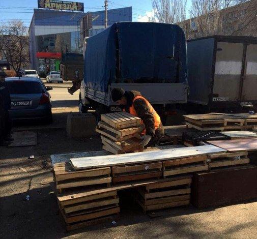 В Астрахани уничтожен востребованный астраханцами рынок