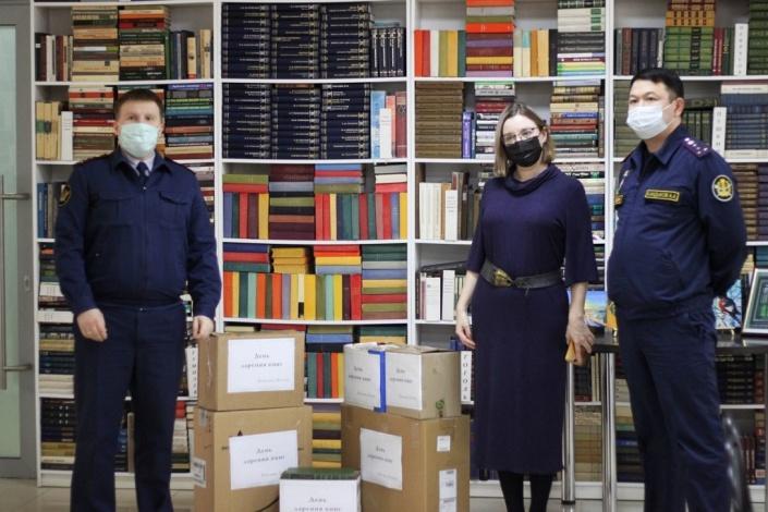 Астраханская библиотека сделала подарок заключенным
