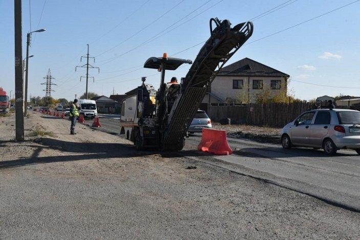 В Астрахани начался ремонт Фунтовского шоссе